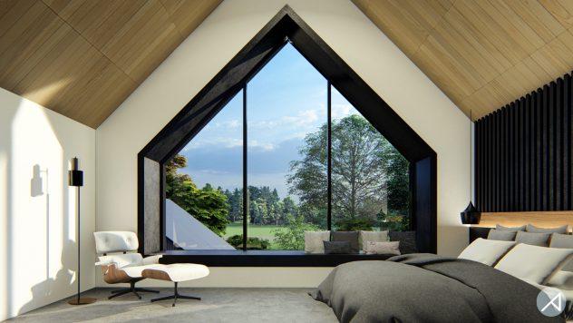Contemporary Scandinavian House Plan