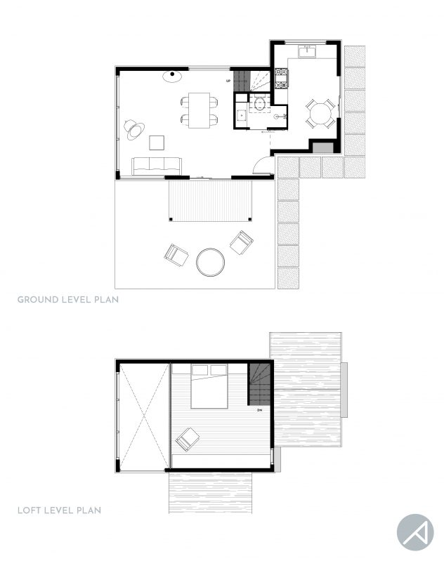 Modern Cabin House Plan