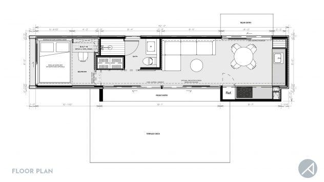 Container Floor Plan