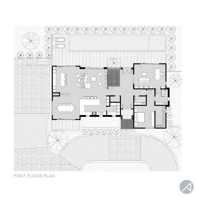 Modern Farmhouse Floor Plan_ANK Studio