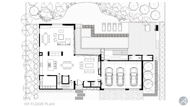 Modern Farmhouse Floor Plan